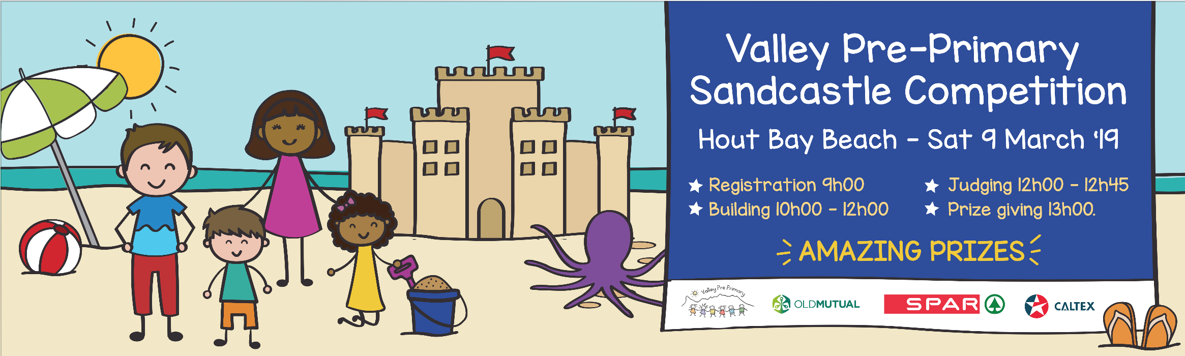 Sandcastle Competition 9 March 2019